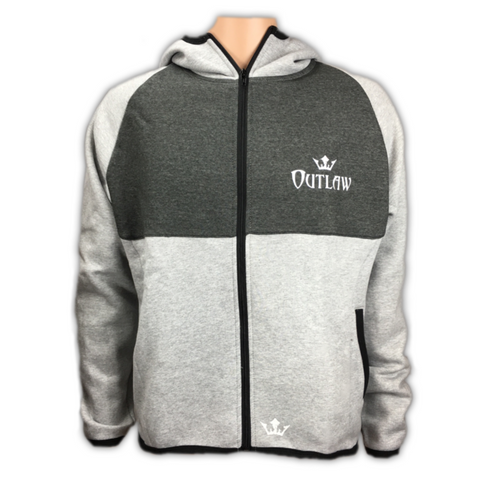 Men's Outlaw Zip Up Sport Hoodie