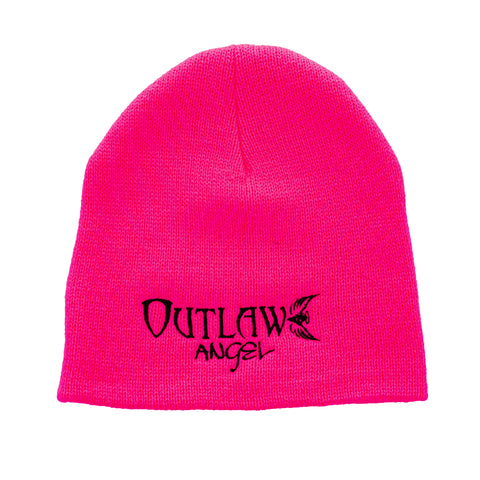 Black Outlaw Angel Beanie