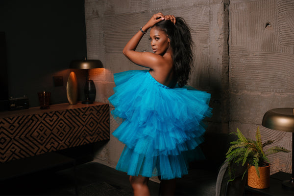 TAMEERA TULLE DRESS