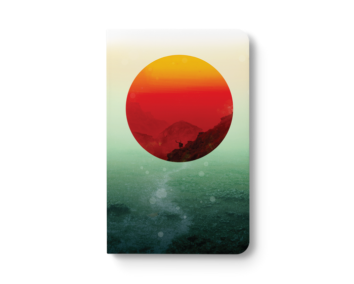 In The End the Sun Rises Layflat Notebook