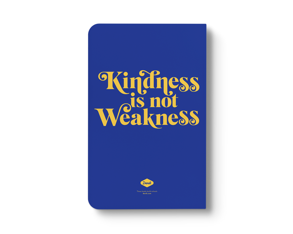Kindness is Not Weakness Layflat Notebook