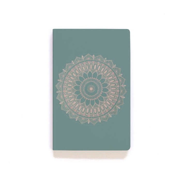 Aqua Mandala Notebook