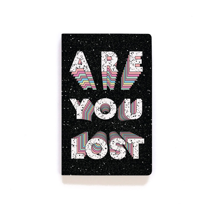 Are You Lost Softcover Notebook