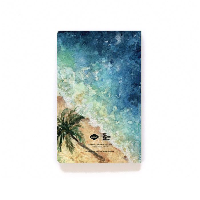 Beach Compass Softcover Notebook