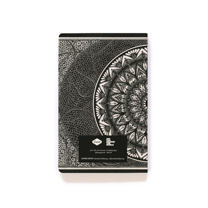 Bead Mandala Softcover Notebook