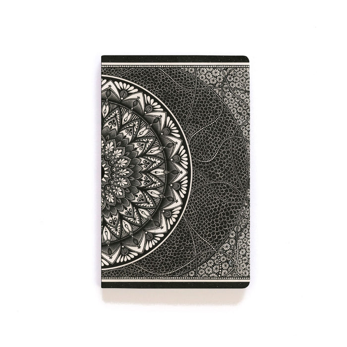 Bead Mandala Layflat Softcover Notebook
