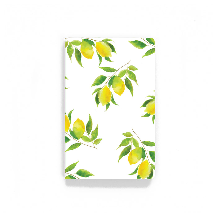 Lemon Softcover Notebook