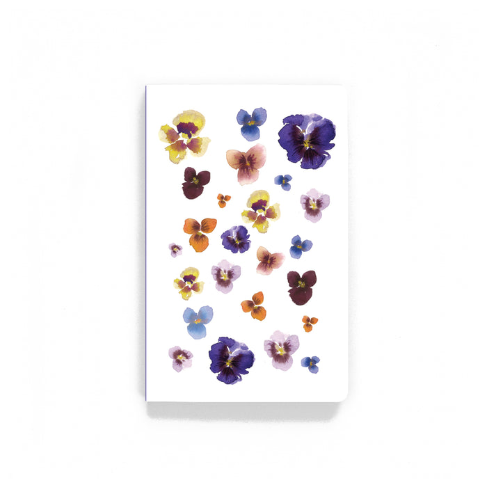 Pansy Softcover Notebook