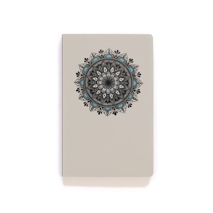 Blue Mandala Softcover Notebook