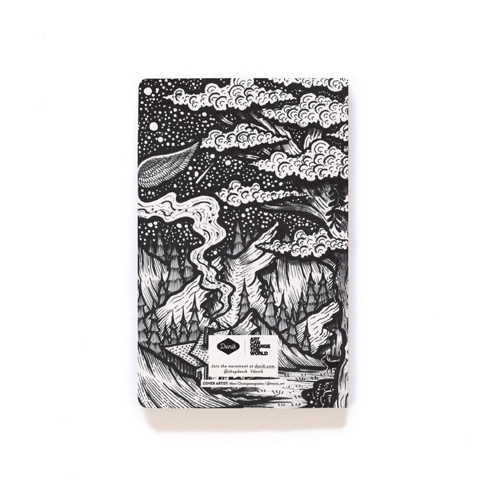 Bookface Layflat Softcover Notebook