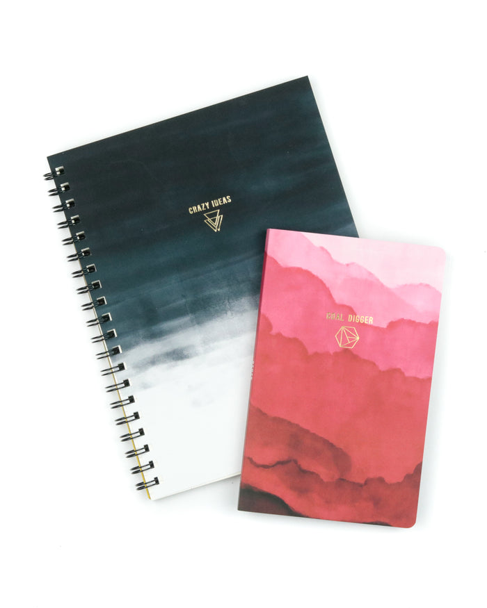 Crazy Ideas Bundle Layflat Softcover Notebook