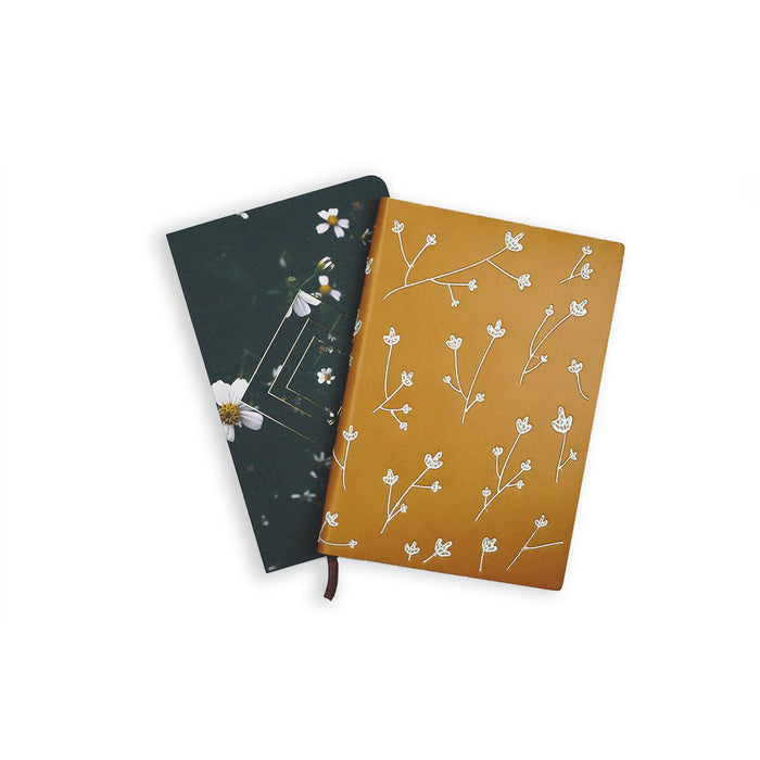 Classic Flowers Notebook Bundle
