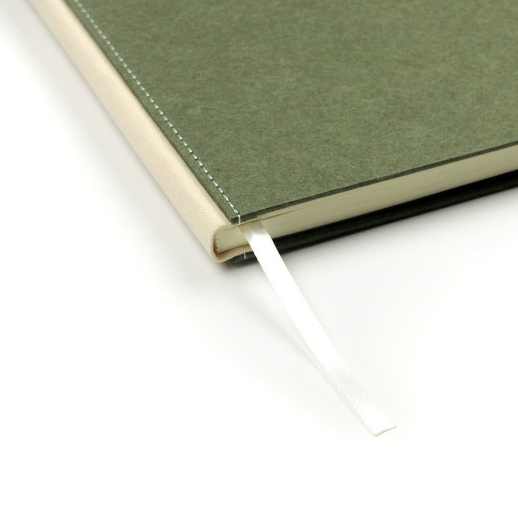 Olive Keep Record Canvas Hardbound Journal