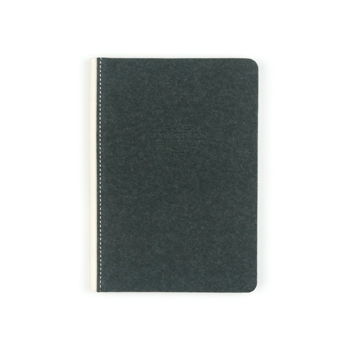 Black Keep Record Canvas Hardbound Dot Grid Journal