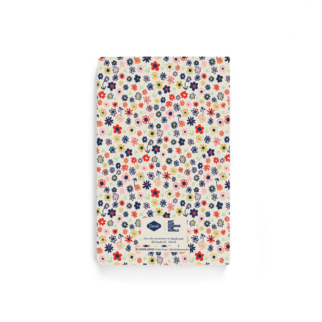Groovy Daisy Softcover Notebook