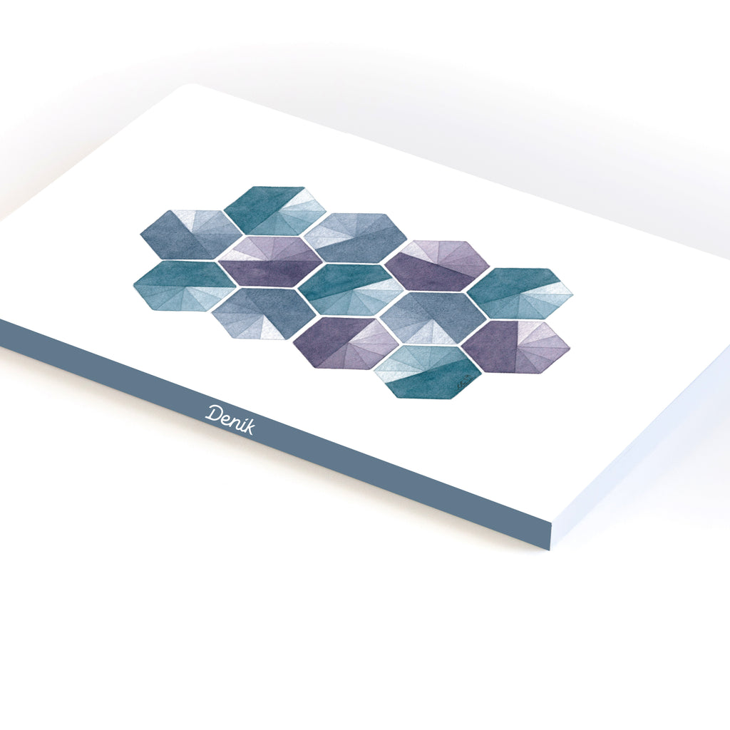 Hexagon Clocks Notebook