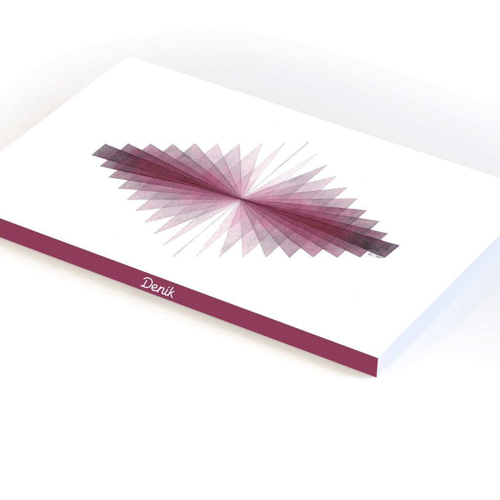 Mirrored Triangles Notebook