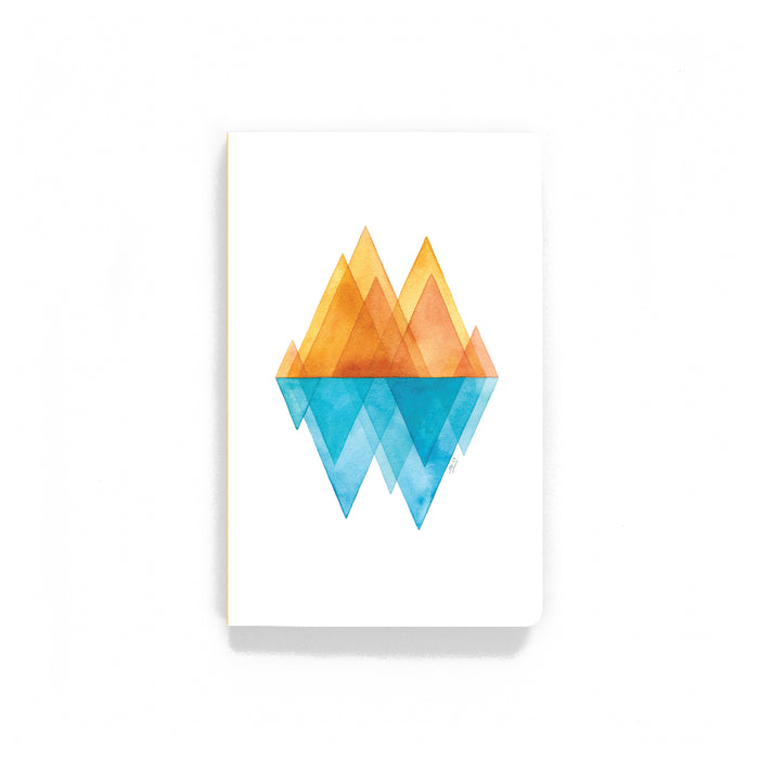 Mountain Reflections Notebook