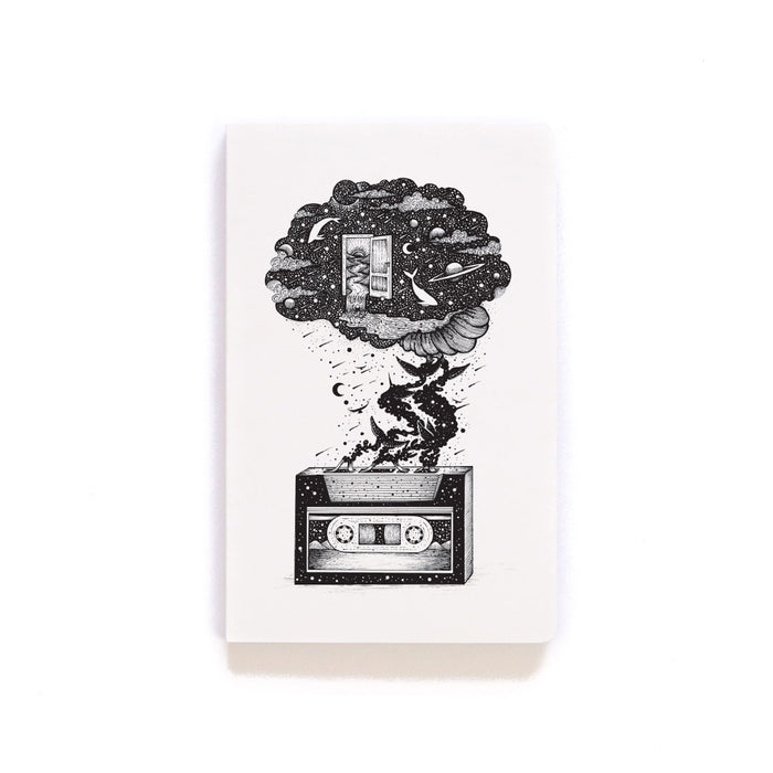 Cassette Layflat Softcover Notebook