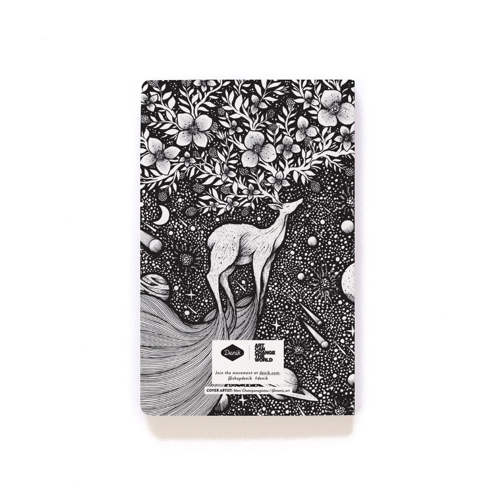 Deer In Space Softcover Notebook Deer In Space Softcover Notebook