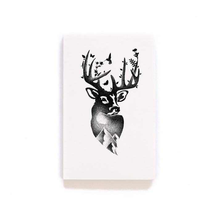 Deer Softcover Notebook