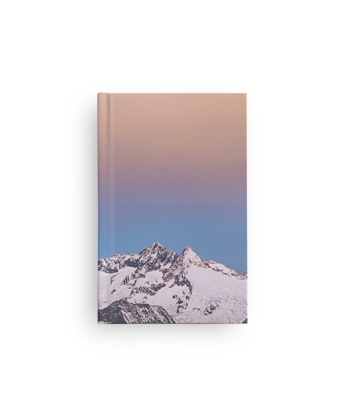 "Custom Hardcover Notebook - 5.5"" x 8.5"""