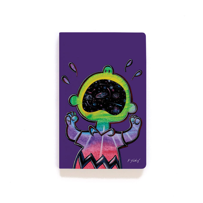 Peanuts X Kenny Scharf Softcover Notebook