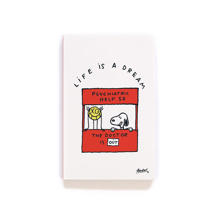 Peanuts X Mr. A Layflat Softcover Notebook