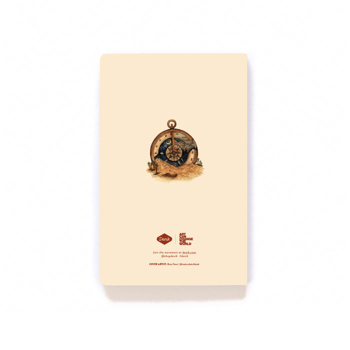 Desert Compass Softcover Notebook