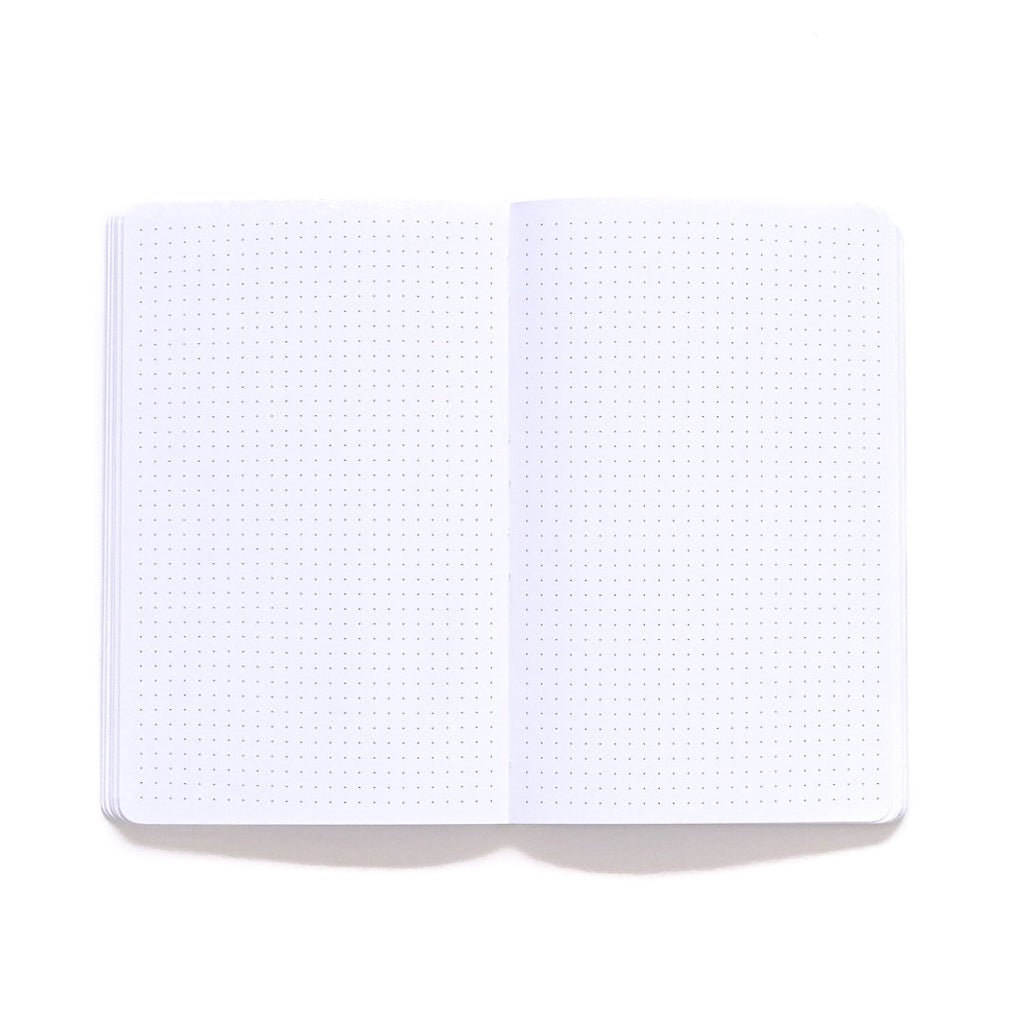 Bermuda Softcover Notebook dot grid page spread