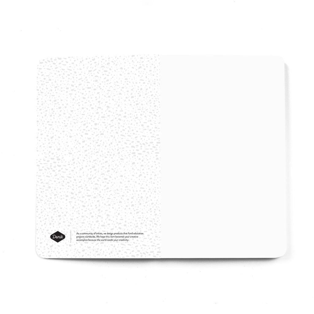 Flourish BW Softcover Notebook front endsheet