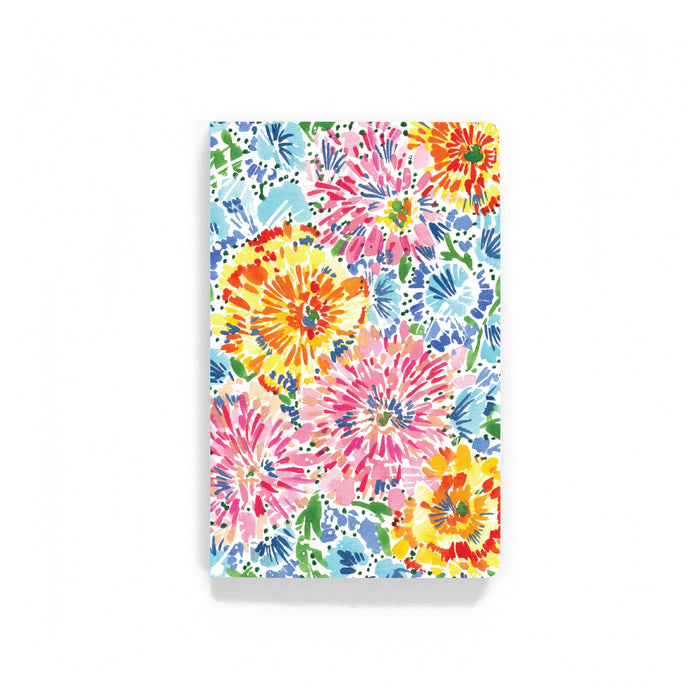 Pastel Fireworks Softcover Notebook