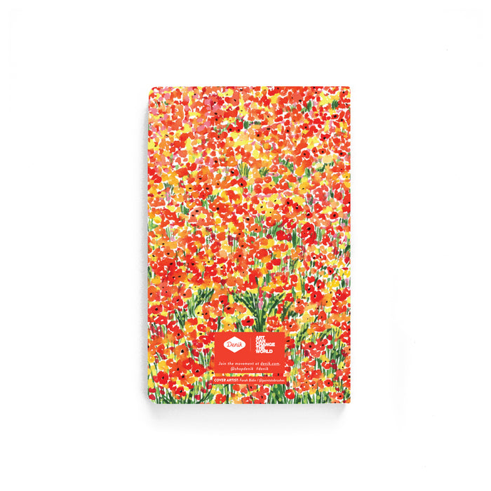 Summer Wildflowers Softcover Notebook