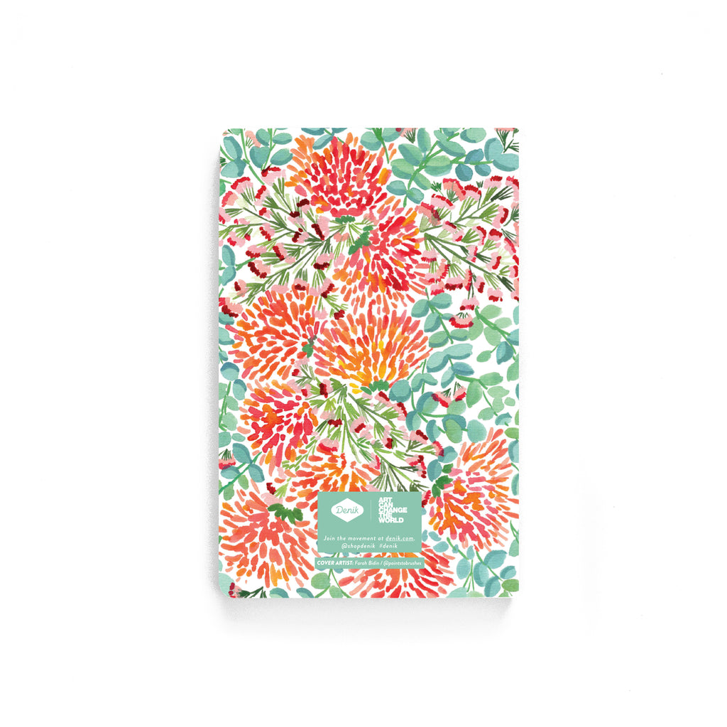 Tropical Wildflowers Softcover Notebook