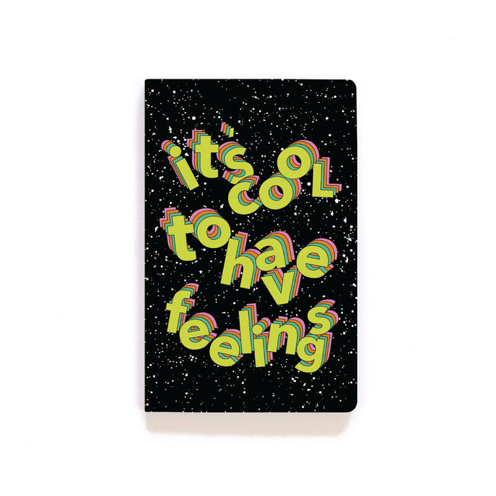 Feelings Softcover Notebook