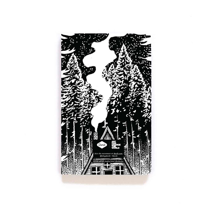 Fir Cabin Layflat Softcover Notebook