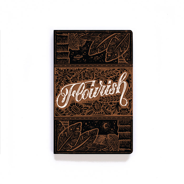 Flourish Softcover Notebook
