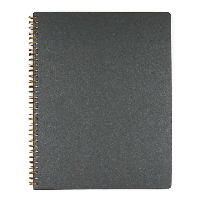 Black Asphalt Spiral Hardcover Sketchbook