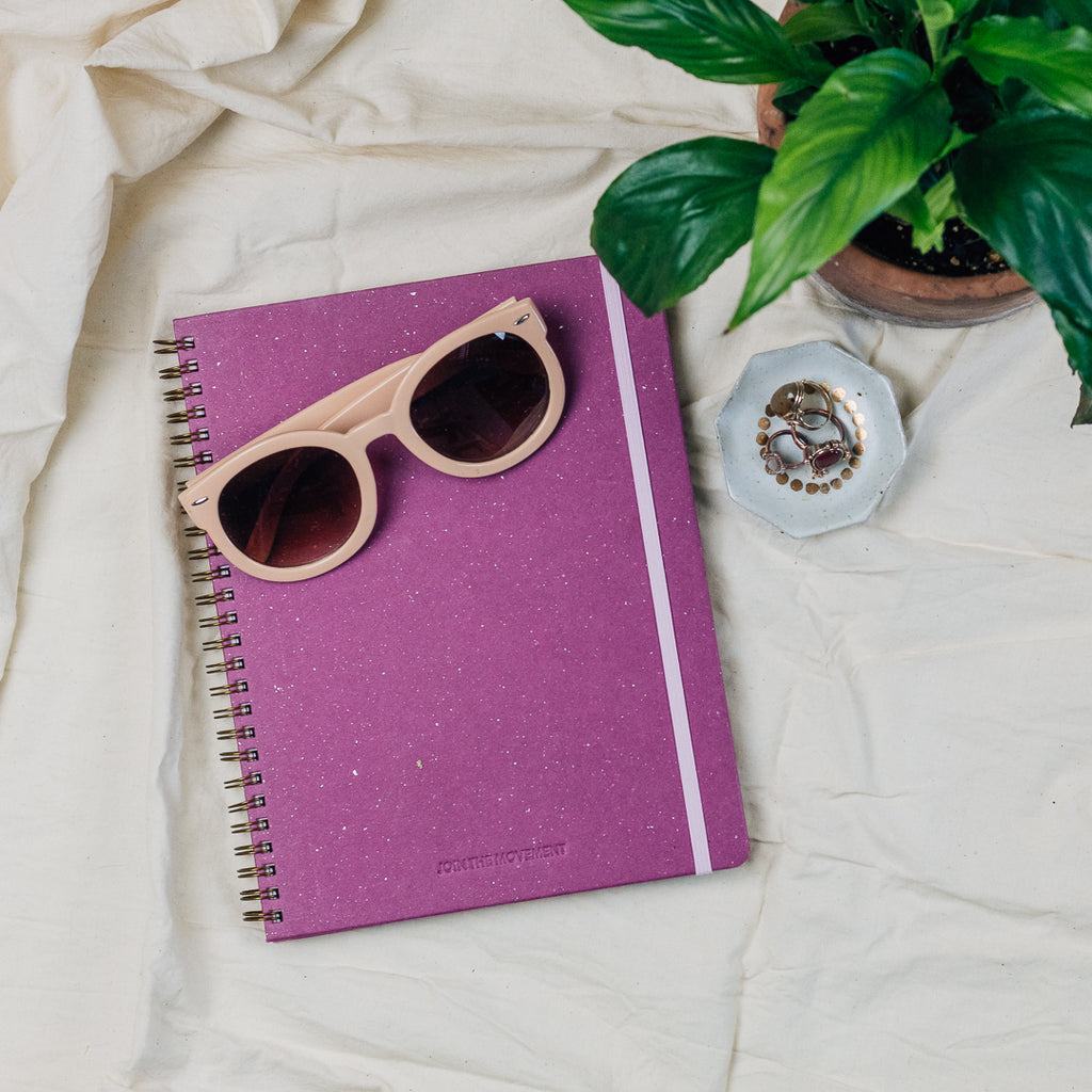 Raspberry Undated Planner