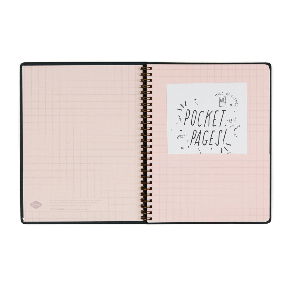 Nothing Comes From Nothing Undated Planner