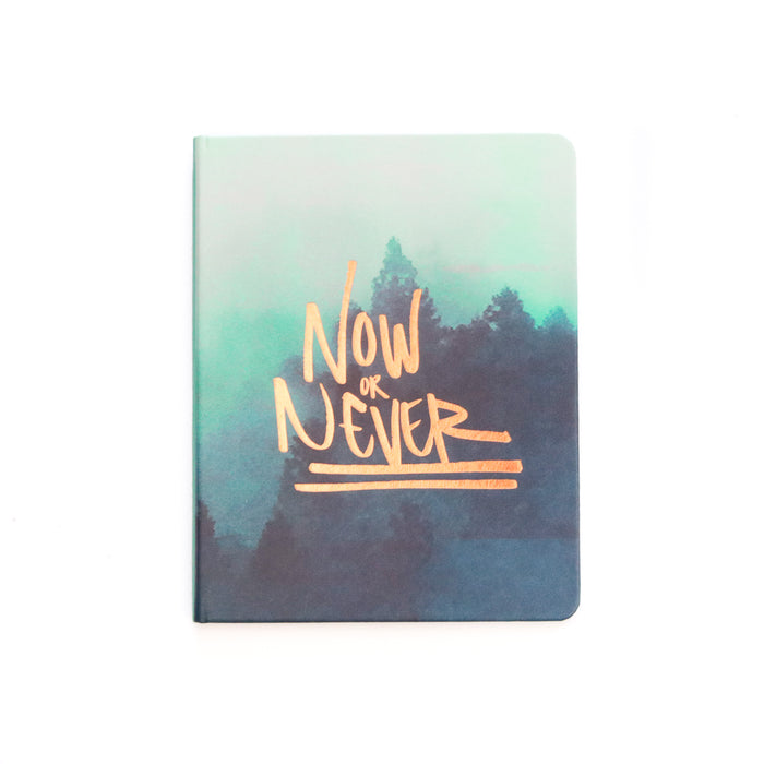 NOW OR NEVER HARDCOVER SKETCHBOOK