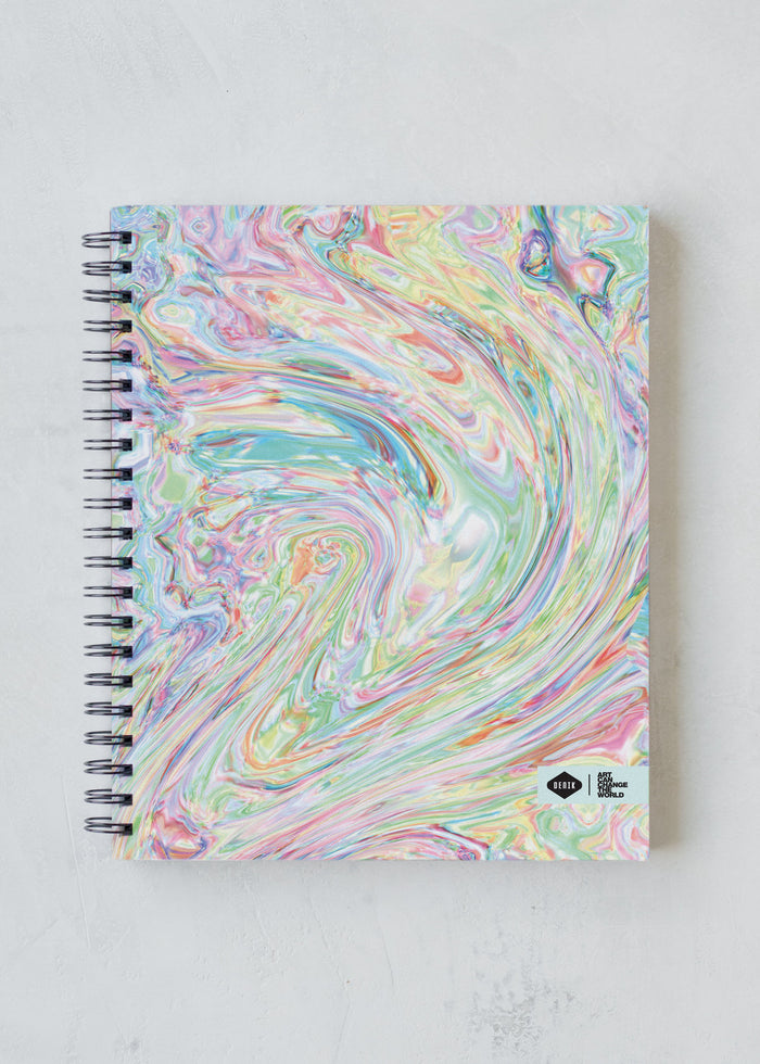 ICE CREAM SWIRL SKETCHBOOK