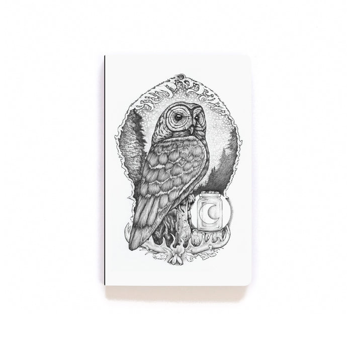 Illuminated Evermore Softcover Notebook