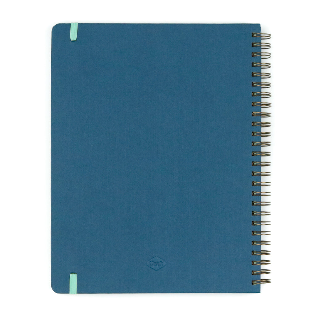 Navy Join The Movement Spiral Notebook