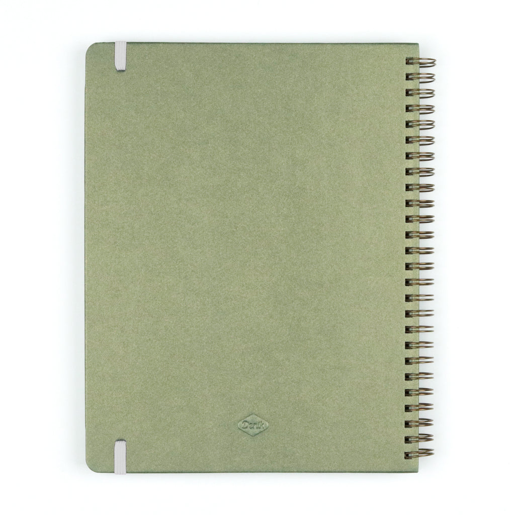 Olive Join the Movement Spiral Notebook
