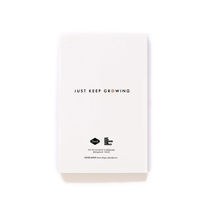 Just Keep Growing Softcover Notebook