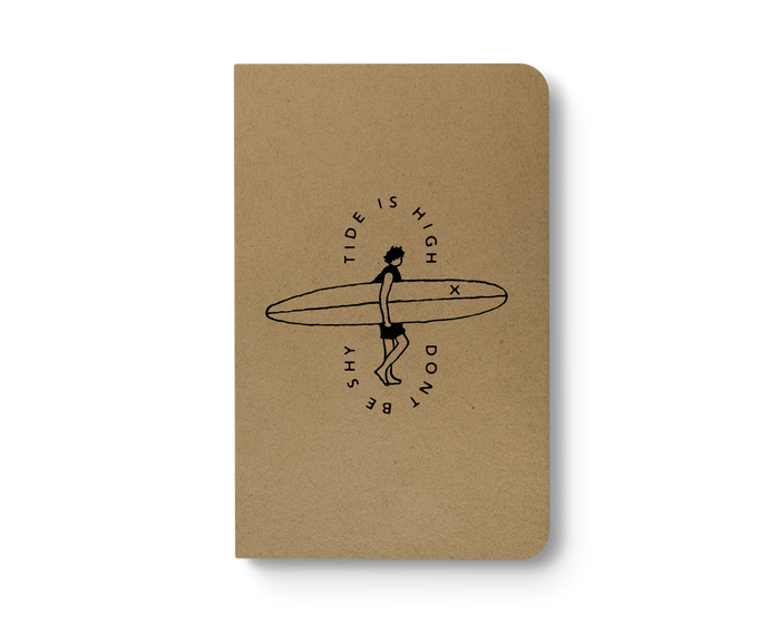 Tide is High - Kraft Layflat Notebook