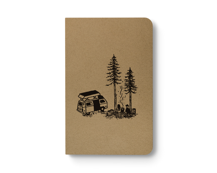 Van Life - Kraft Layflat Notebook