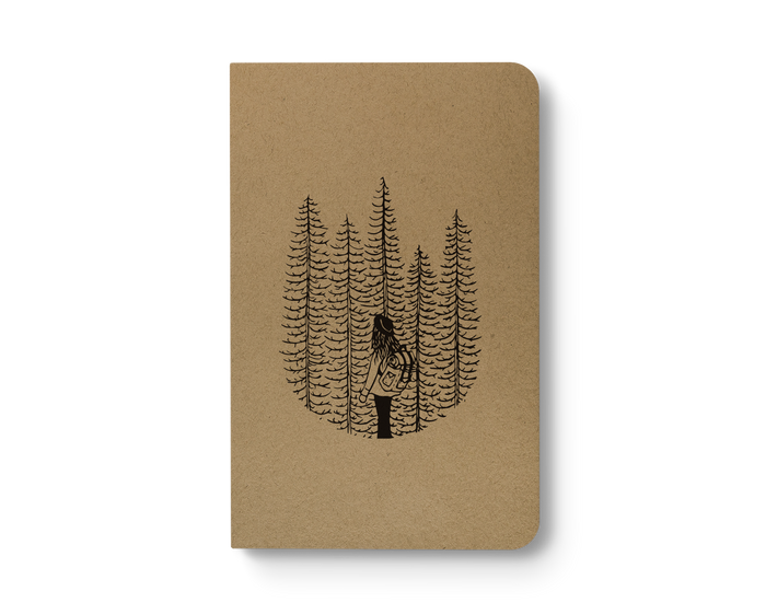 Wanderer - Kraft Layflat Notebook
