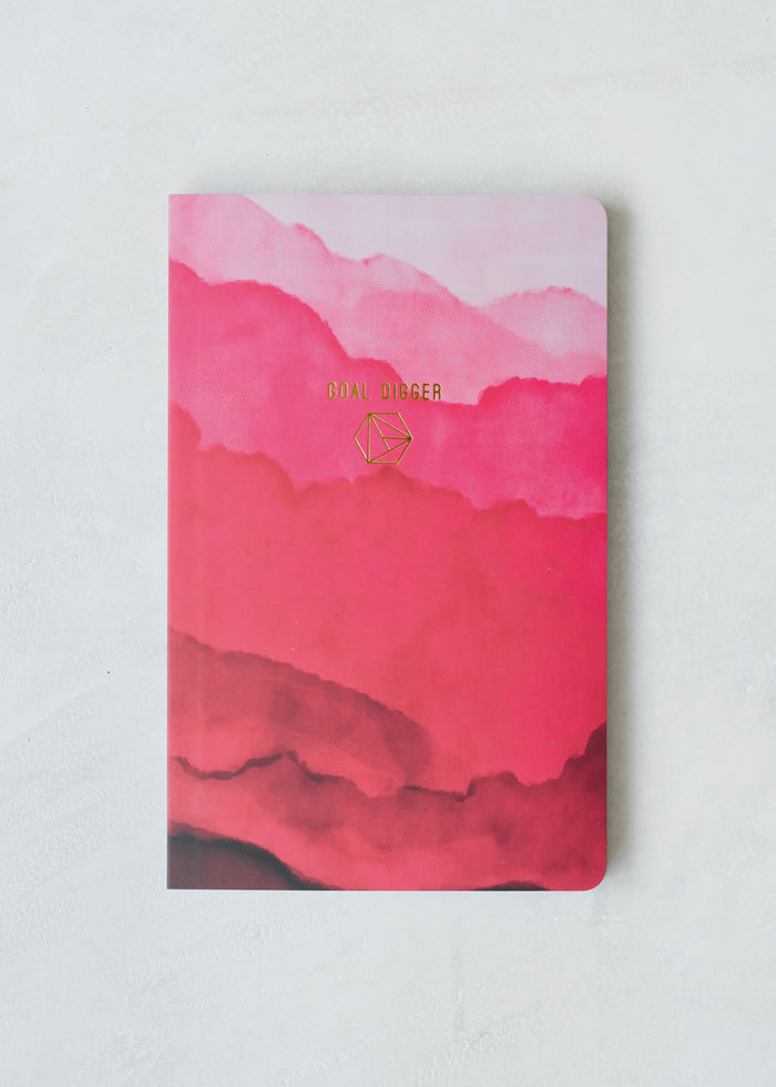 Goal Digger Layflat Softcover Notebook